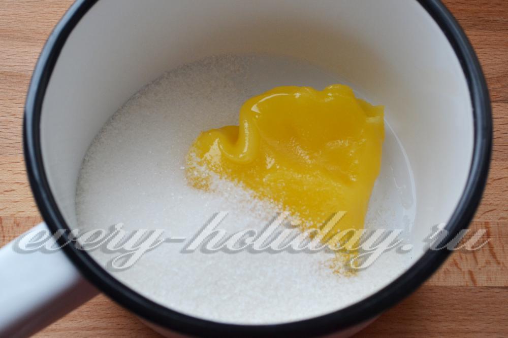 Как сделать сироп для чак чака с медом