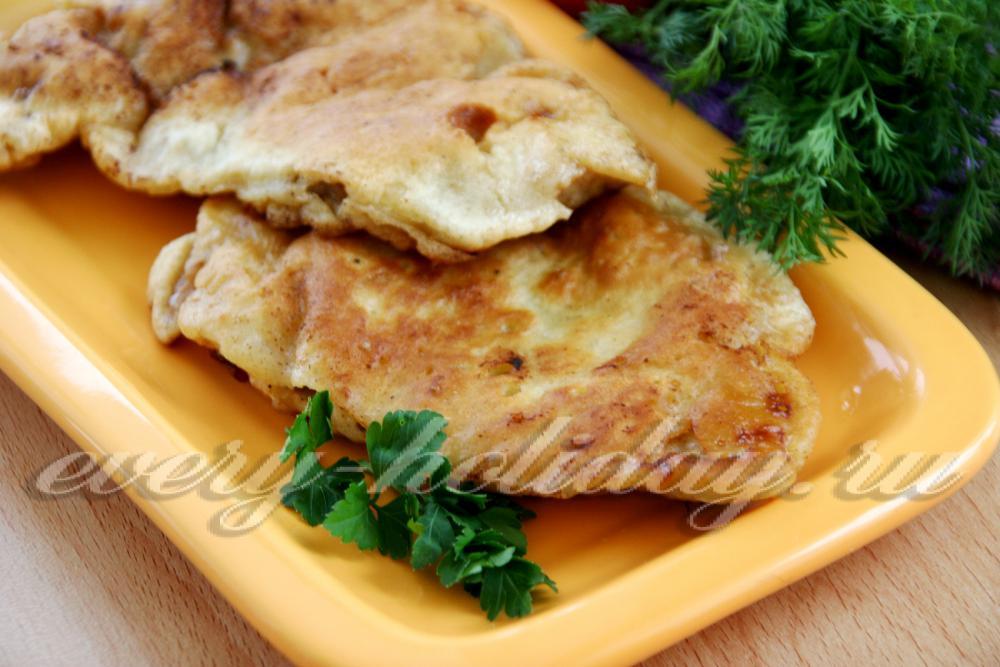Рецепт отбивных свинины сыром фото