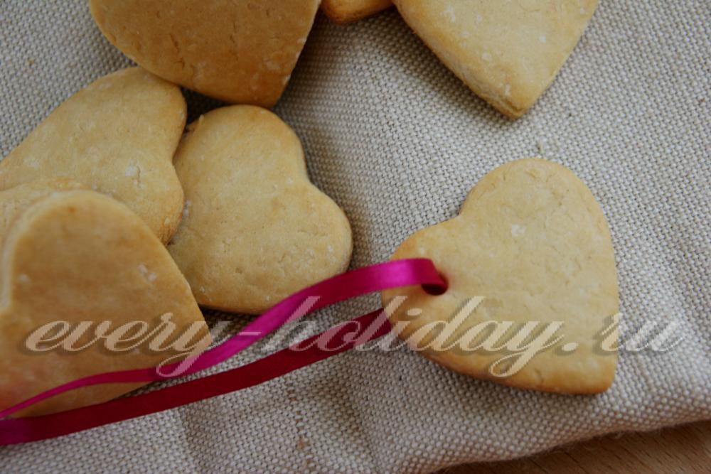 Печенье без масла и яиц простой с фото