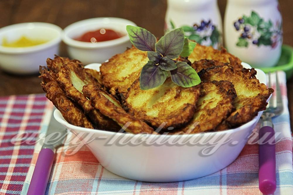 Драники с салом картофельные рецепт пошаговый с фото