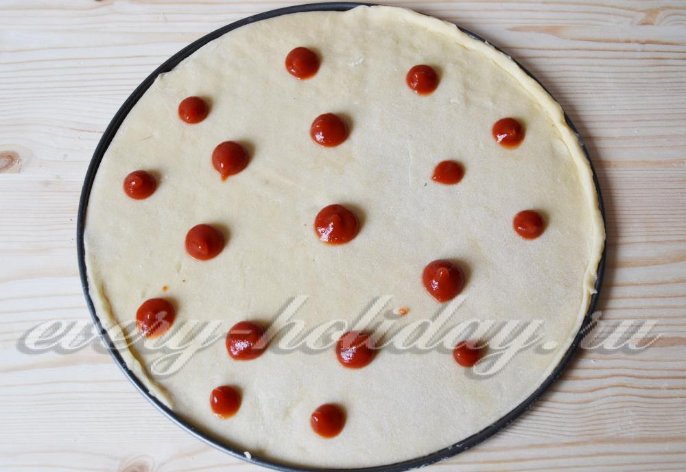 Пицца без муки рецепт пошагово