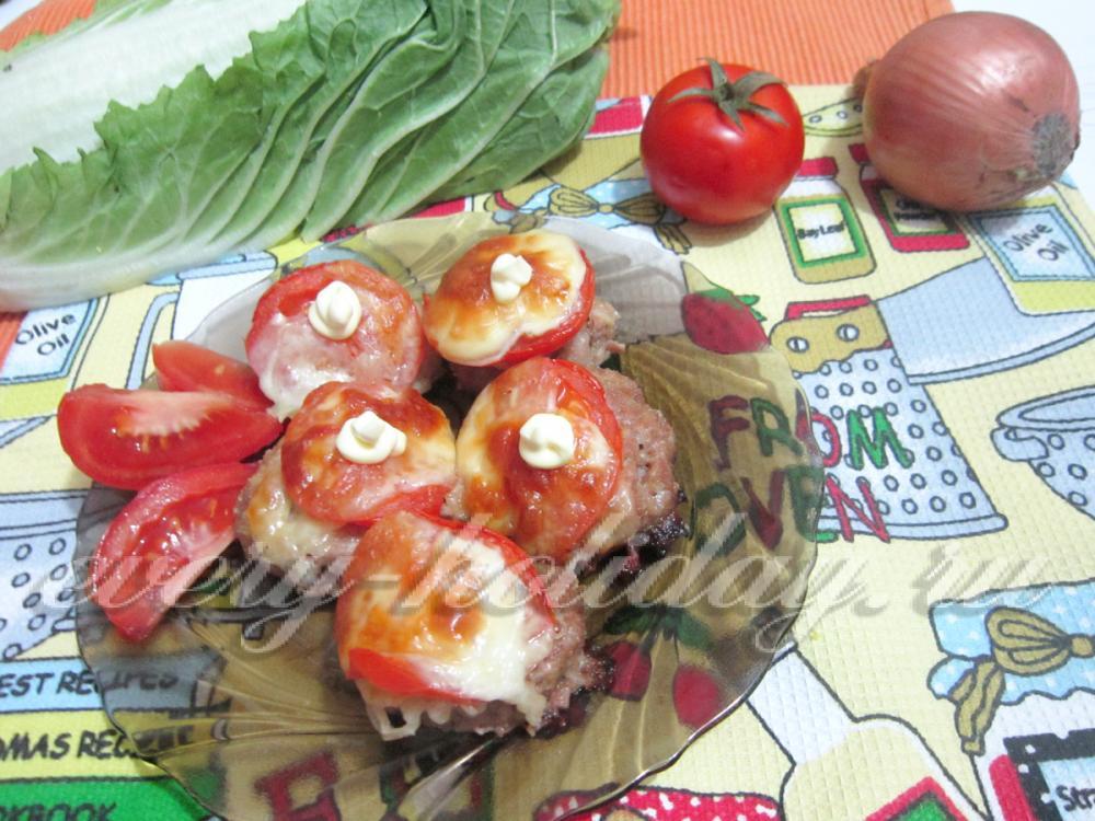 Котлеты под картофельной шубой в духовке рецепт