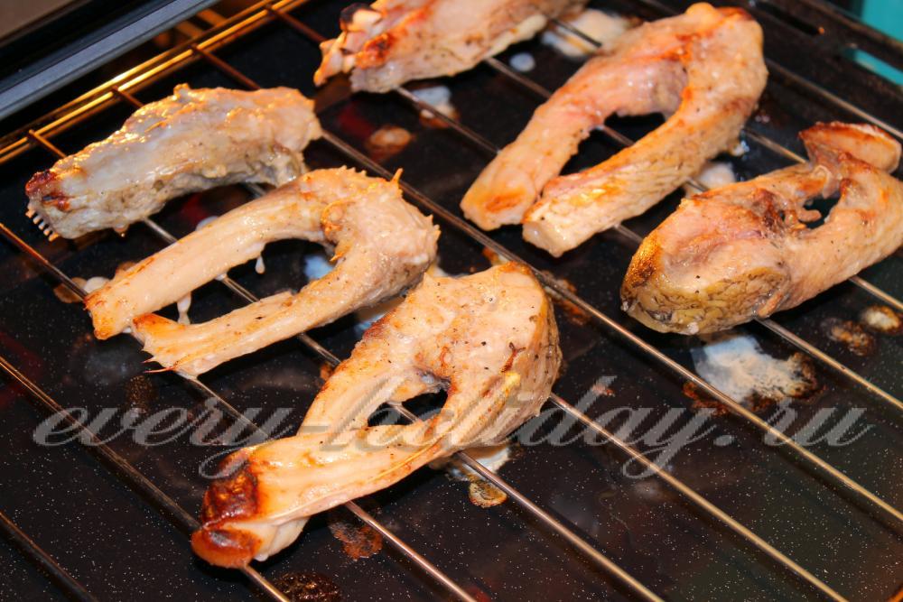 Рецепт как запечь рыбу кусочками в духовке