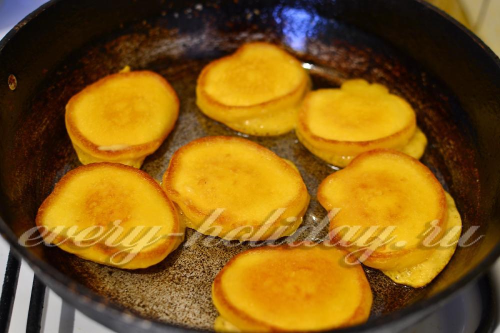 Тыквенные оладьи пышные рецепт с пошагово