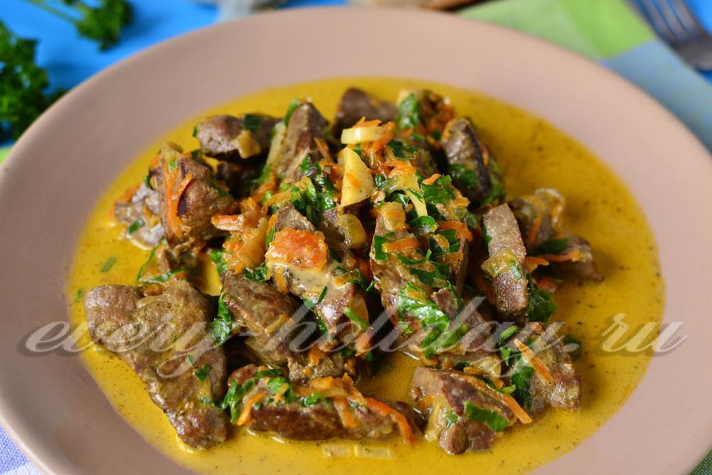 Подливка из говядины рецепт с пошагово со сметаной
