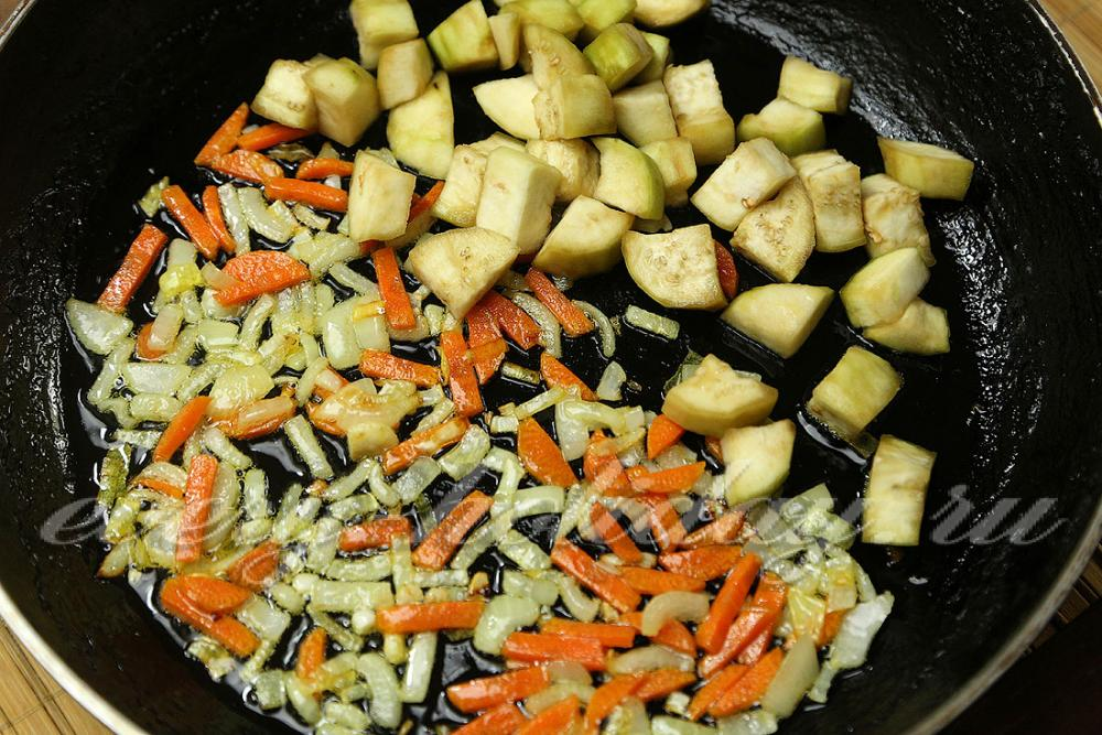 рецепт баклажаны и цветная капуста