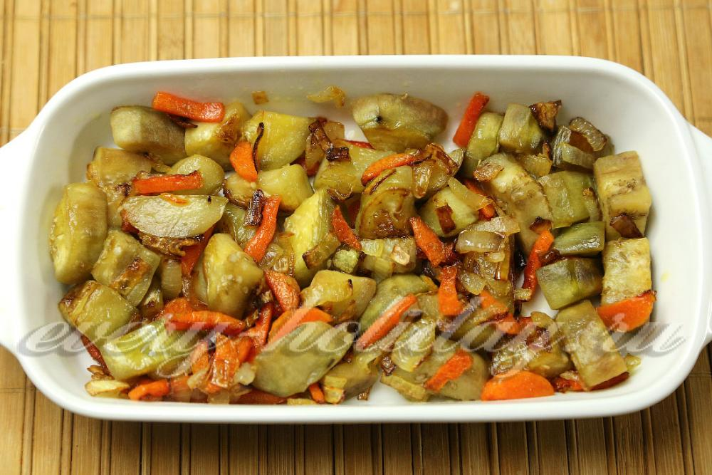 Блюдо из цветной капусты с баклажанами рецепты