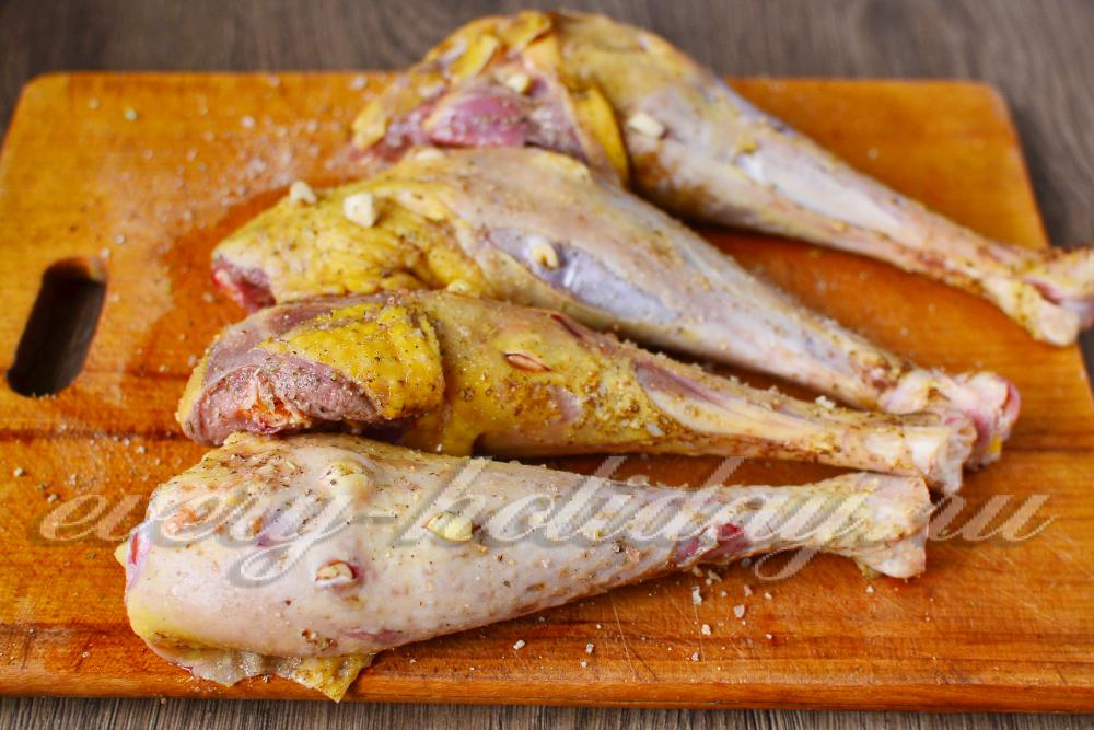 Блюда из ножки индейки рецепты с фото