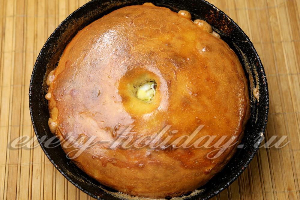 Пироги с сушеными грибами рецепты