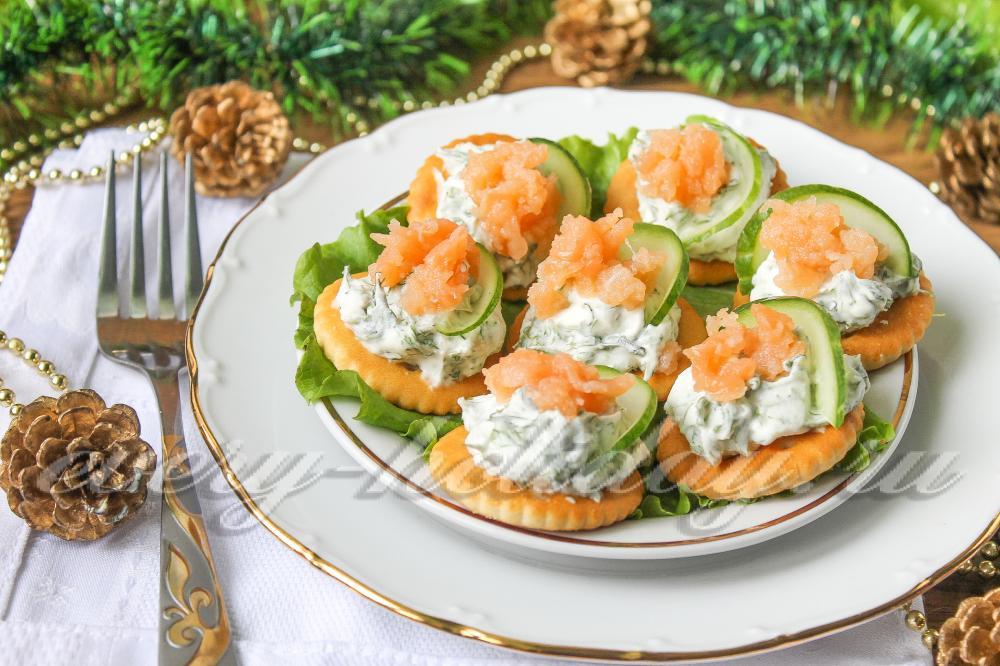 Холодные закуски с рыбой  кулинарные рецепты Миллион Меню