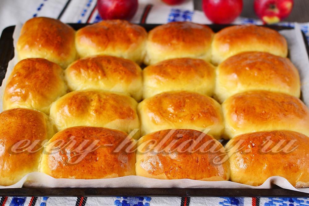 Пирожки в с яблоками в духовке рецепт с пошагово