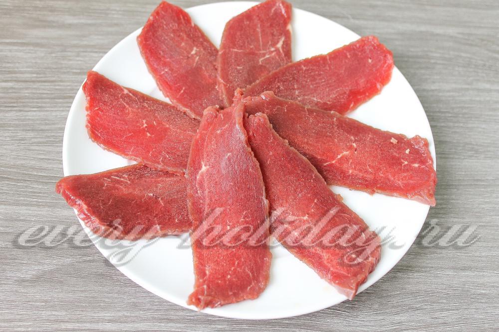 Карпаччо из говядины в домашних условиях 346