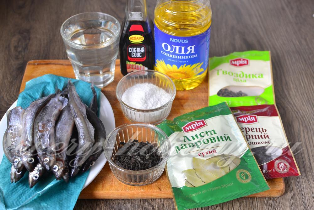 Рецепт шпрот из мойвы в домашних условиях с фото