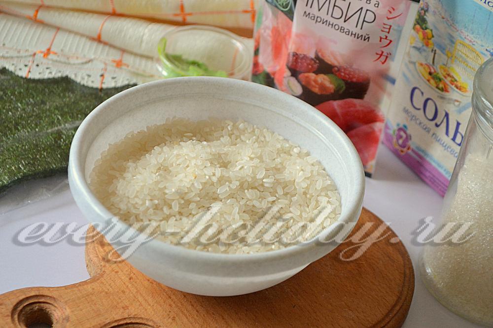 Рис для роллов с рисовым уксусом как варить