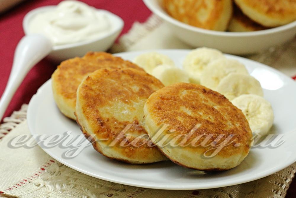 Сырники из творога - Пошаговый рецепт с фото Десерты 27