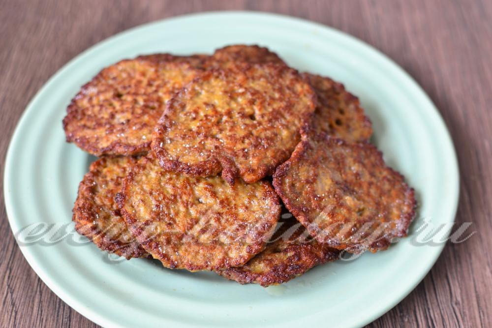 Рецепт оладьи из говяжьей печени