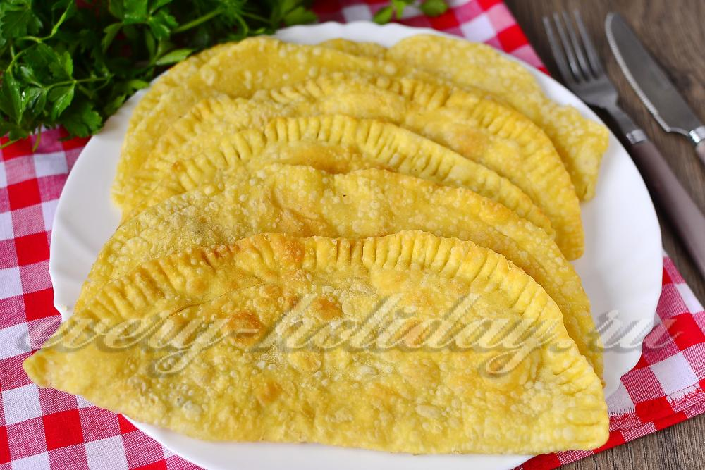 Чебуреки рецепт пошаговый с уксусом