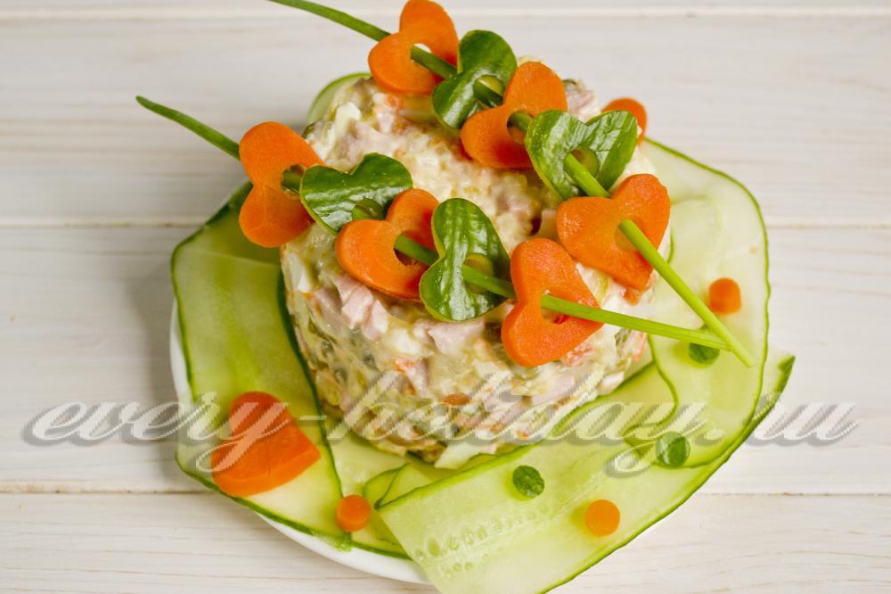 салат из трески рецепт с фото очень вкусный