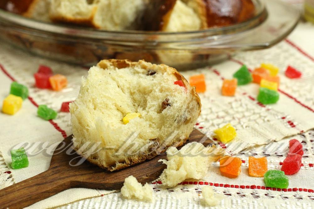 Сдобные булочки с цукатами рецепт