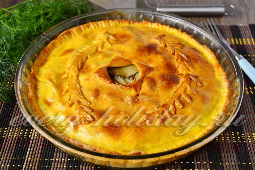Мокрый пирог рецепт пошагово в духовке