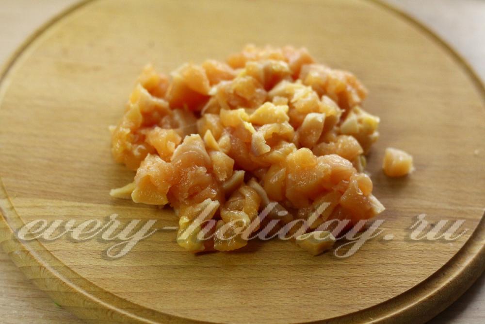 заливной пирог с курицей на кефире рецепт с фото в духовке