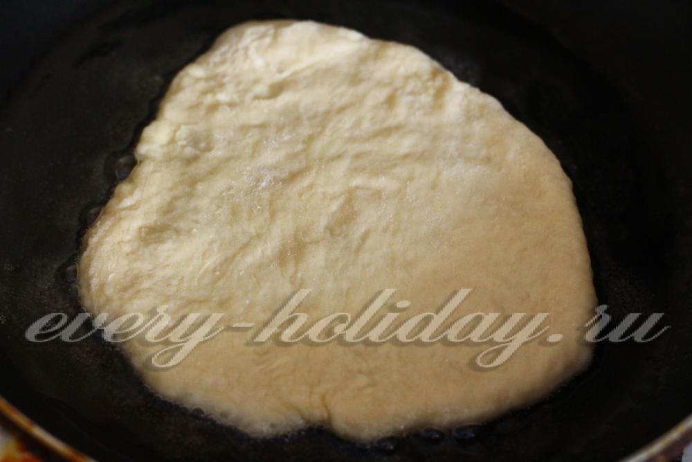 Пустышки на кефире жареные на сковороде рецепт с пошагово 24