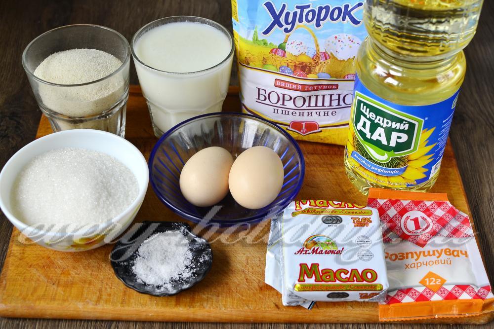 Рецепты яйцо мука масло