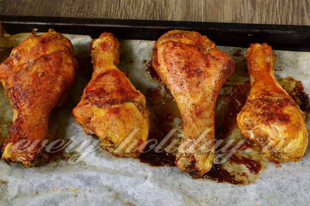 Как сделать куриные голени хрустящими