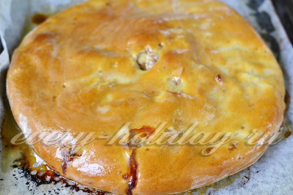 Рецепт приготовления осетинского пирога в домашних условиях