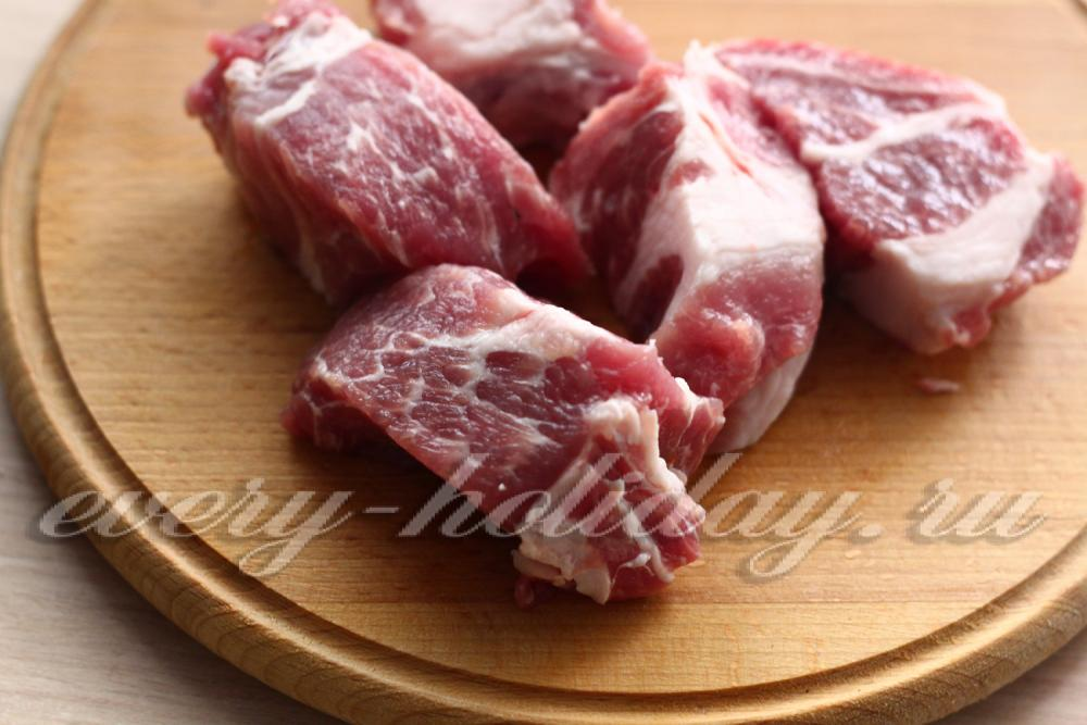 из свиной лопатки блюда белье
