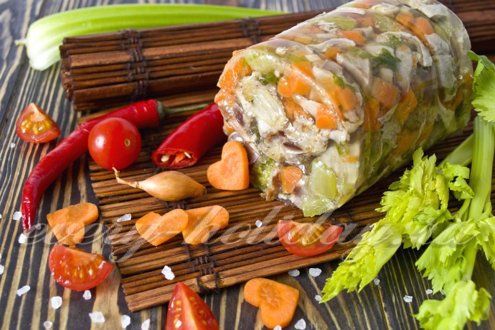 Скумбрия с овощами запеченная в рукаве рецепт