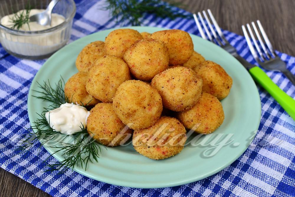 картофельные блины из пюре рецепт с фото