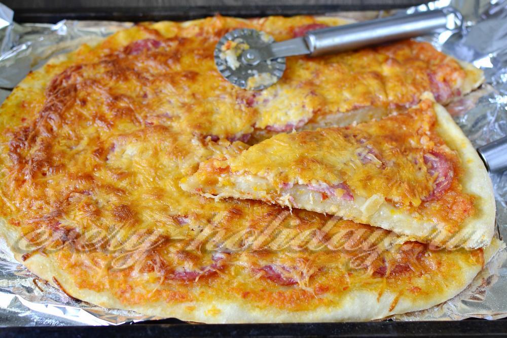 тесто на пиццу рецепт как в пиццерии с дрожжами