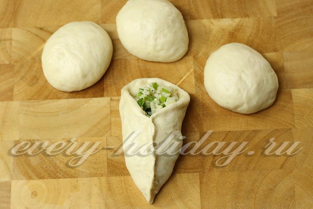 Как сделать начинку из яиц на пирожки 150