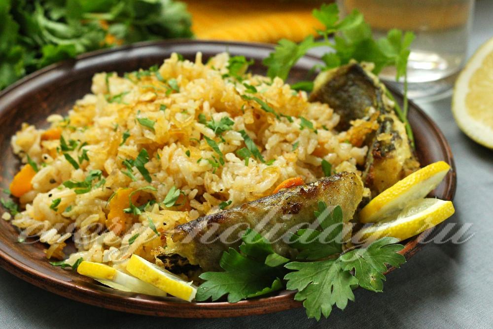 рецепт мясо с рисом и овощами в духовке