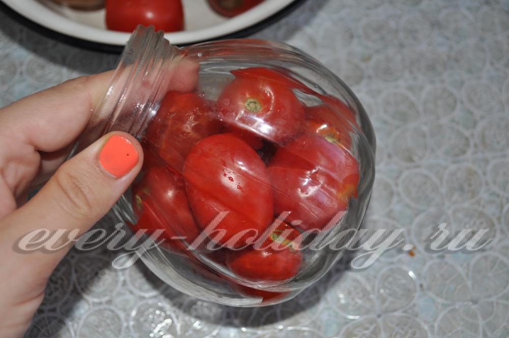 рецепт помидоры с черносливом на зиму