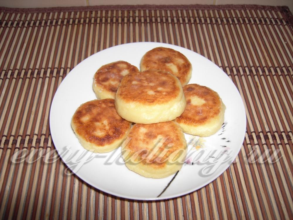 Сырники из творога с ванилином рецепт с фото пошагово