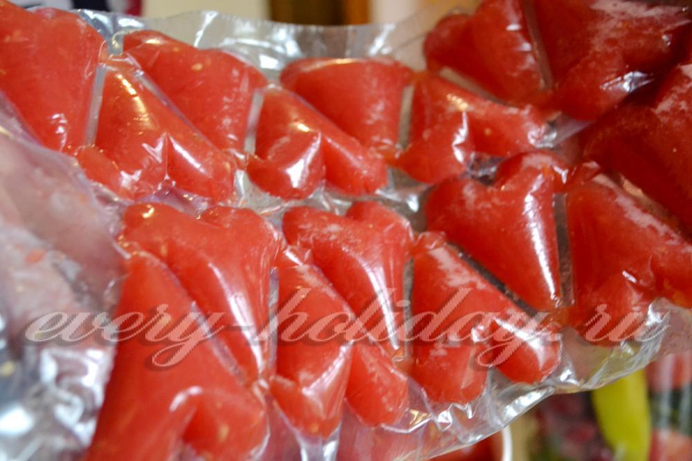 Замороженные помидоры в домашних условиях 701