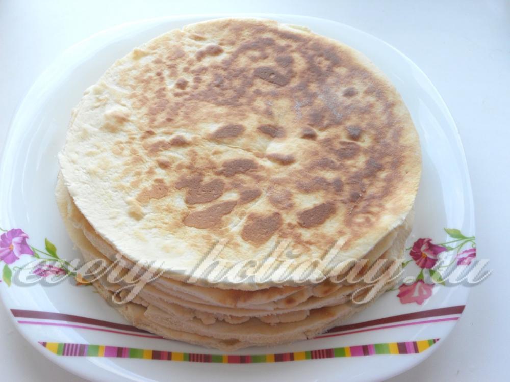 Торт со сгущенкой рецепт без сметаны