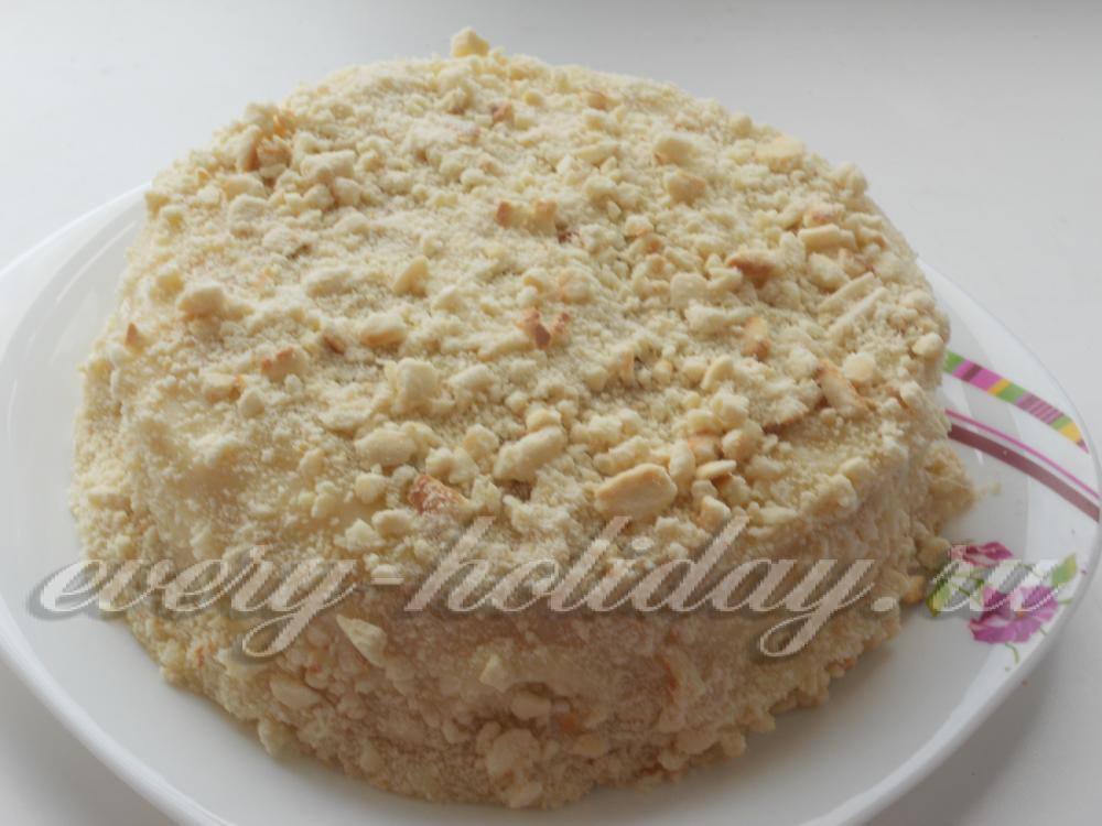 Торт минутка рецепт с фото пошагово