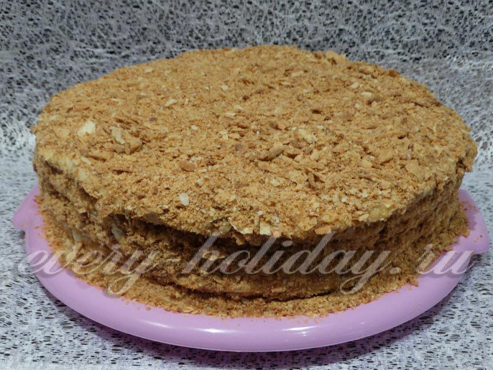 Торт наполеон рецепт с пошагово тестом