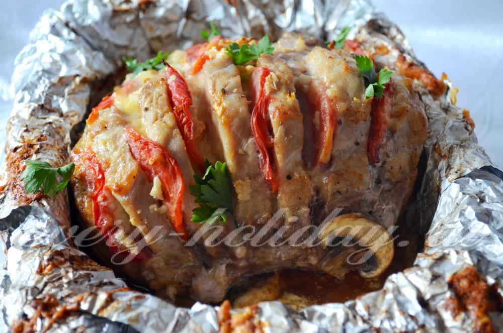 Мясо гармошка рецепт пошагово