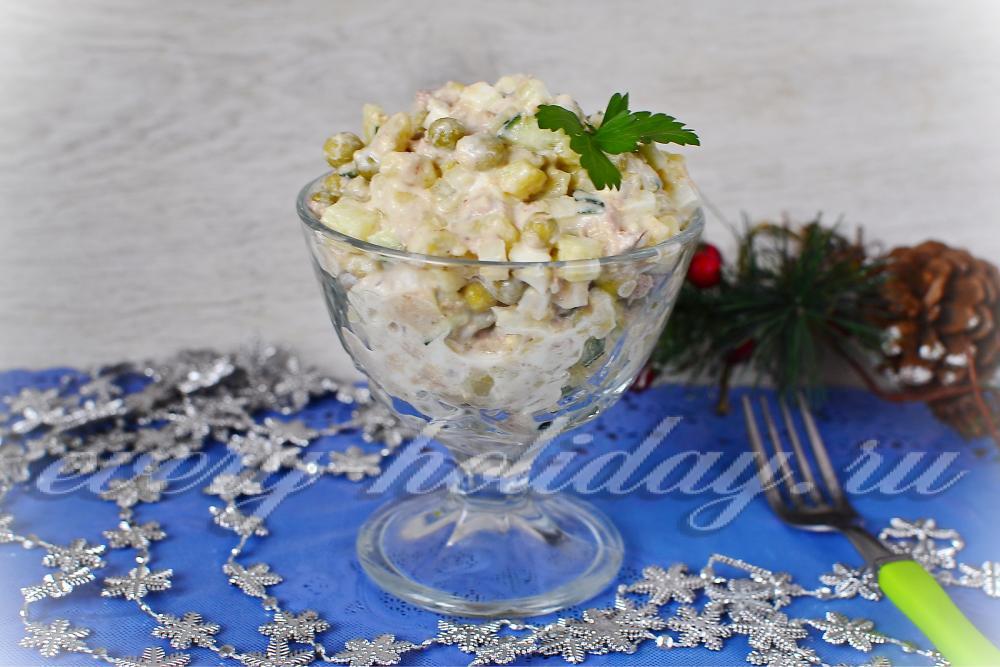 Салаты с тунцом консервированным и свежим огурцом рецепты 18