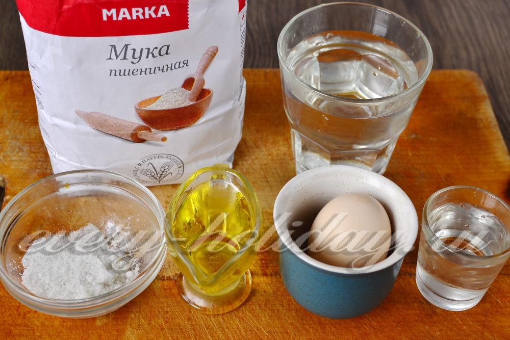 Чебуреки заварные с водкой рецепт с пошаговый