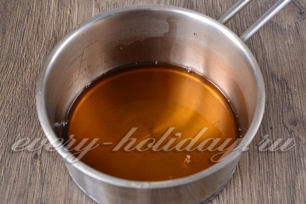 Как сделать сироп для пропитки торта в домашних условиях 403
