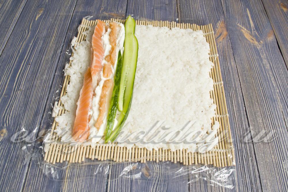 Рецепты роллы без нори в домашних условиях рецепт с пошагово с