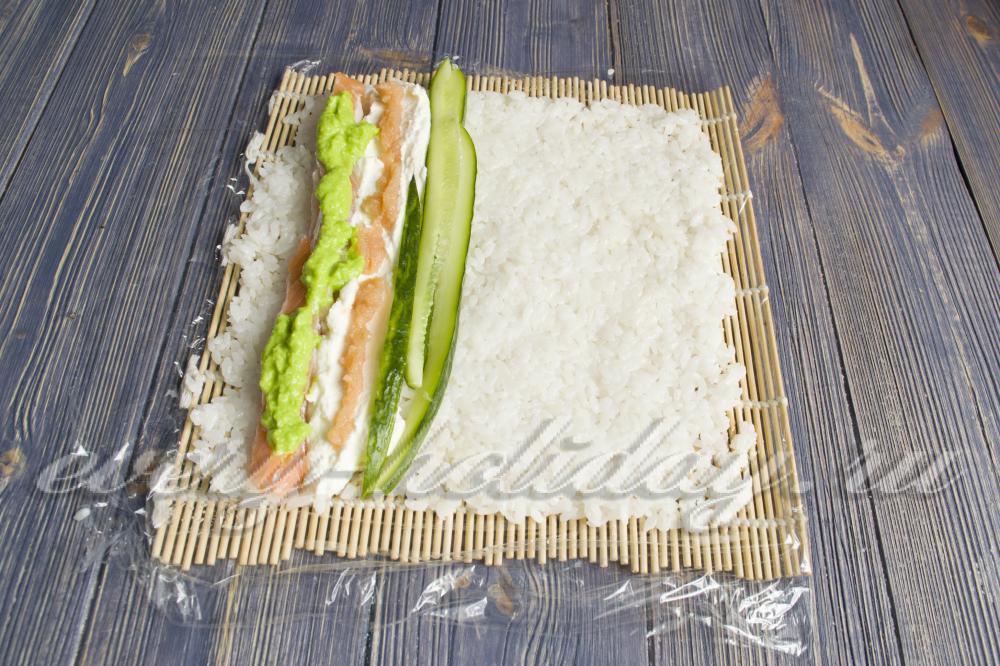 Роллы в домашних условиях рецепты без нори