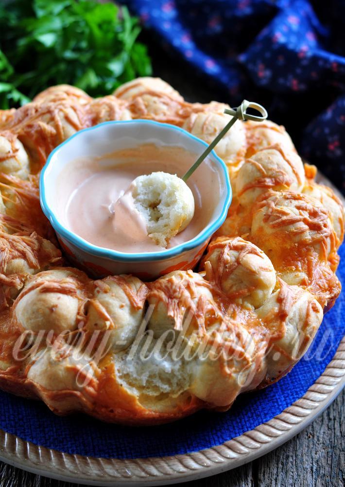 Обезьяний хлеб рецепт с фото