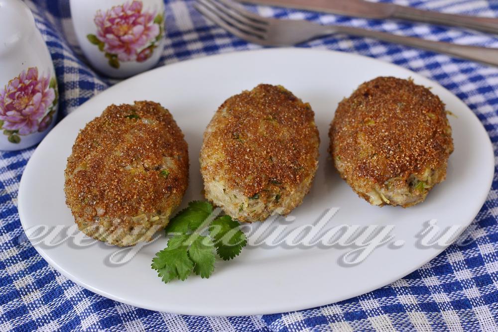 Котлеты из фарша с картошкой рецепт пошагово
