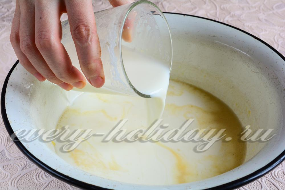 Из кислой сметаны рецепт с пошагово